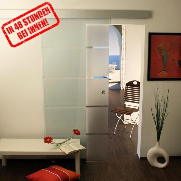 glasschiebet r set 3ag775 mit griffmuschel glasschiebet ren glast ren und beschl ge glas shop24. Black Bedroom Furniture Sets. Home Design Ideas