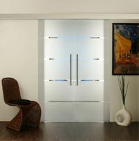 glasschiebet ren 2fl gelig doppel glasschiebet r. Black Bedroom Furniture Sets. Home Design Ideas
