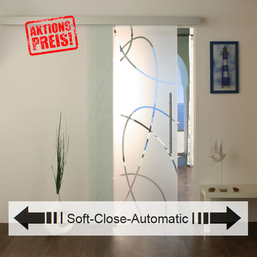 Soft-Close Glasschiebetür-Set 20AS900-Soft