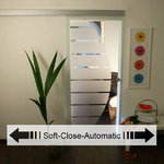 Soft-Close Glasschiebetür-Set 4AG775-SCA