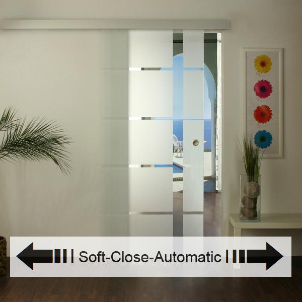 glasschiebet r set 18ag1025 soft close automatic glasschiebet ren glast ren und beschl ge. Black Bedroom Furniture Sets. Home Design Ideas
