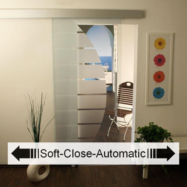 glasschiebet r set 4as 1025 soft close glasschiebet ren glastren und beschl ge. Black Bedroom Furniture Sets. Home Design Ideas