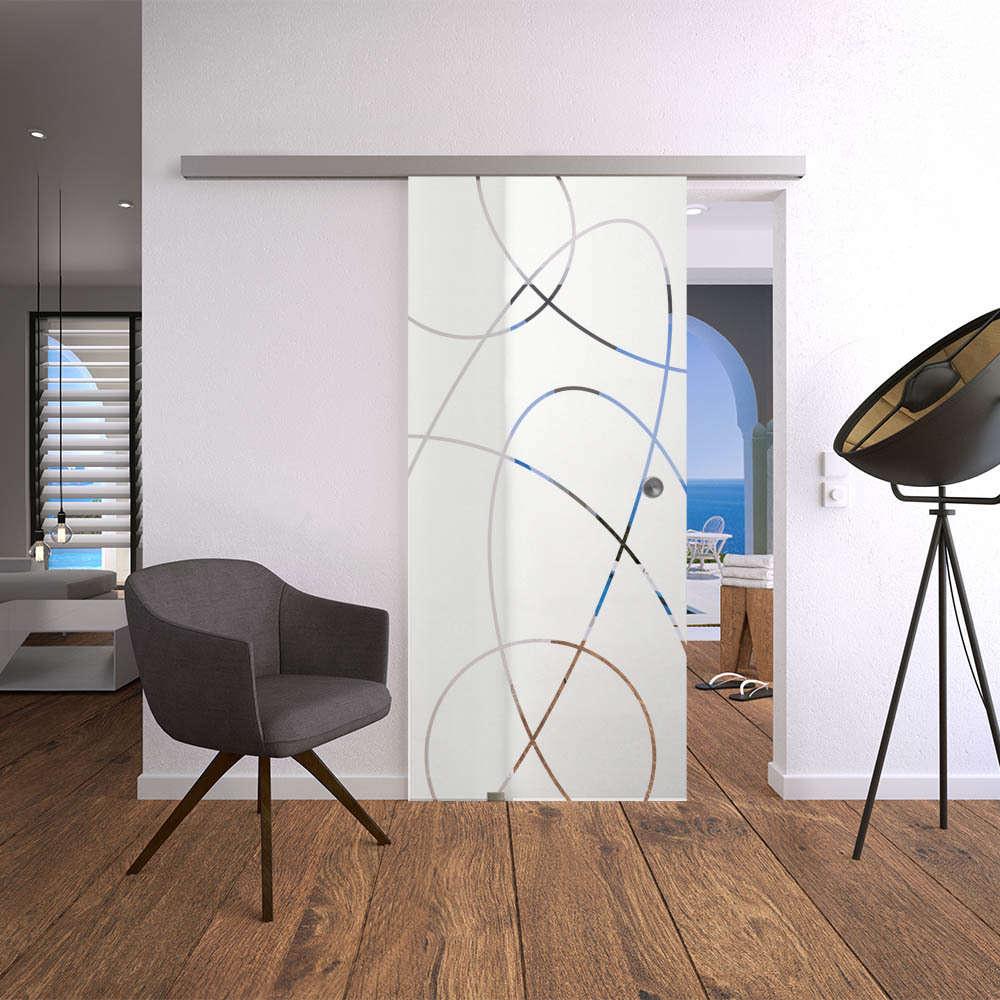 Glasschiebetür-Set 20AG900 | jetzt online kaufen | Glas-Shop24