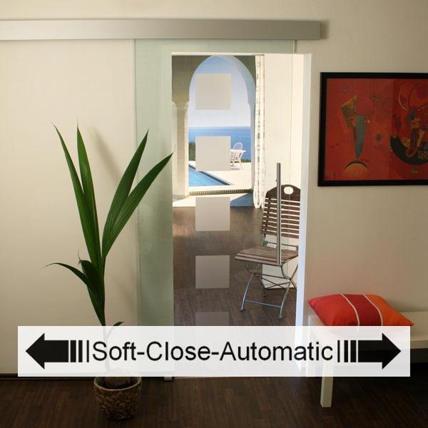 glasschiebet r set 2as 900 soft close glasschiebet ren glast ren und beschl ge. Black Bedroom Furniture Sets. Home Design Ideas