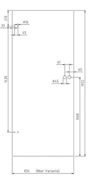 glast r 18ts86 glasschiebet ren glast ren und beschl ge glas shop24. Black Bedroom Furniture Sets. Home Design Ideas