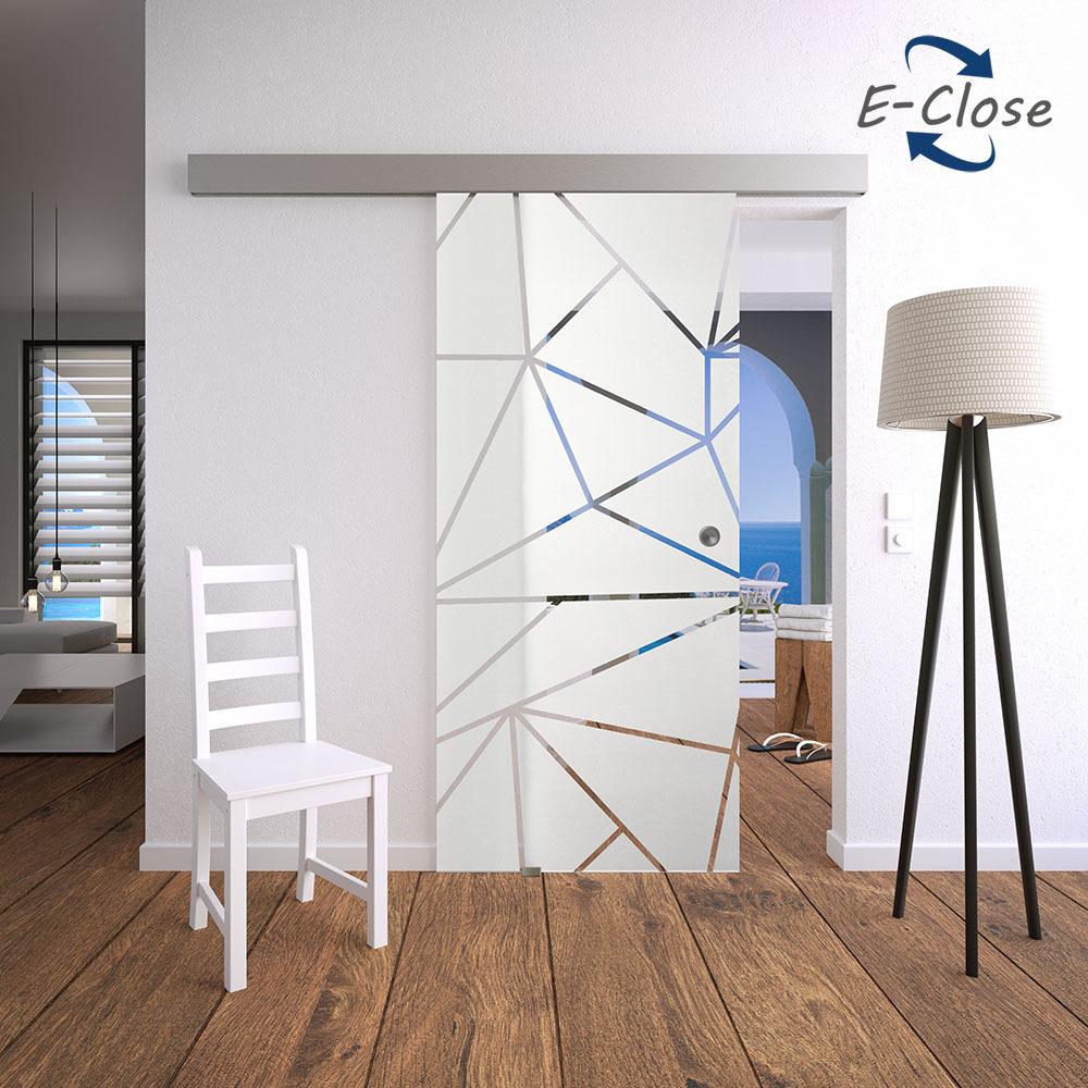 elektrisches glasschiebet r set 7ag e close glasschiebet ren glast ren und beschl ge glas. Black Bedroom Furniture Sets. Home Design Ideas